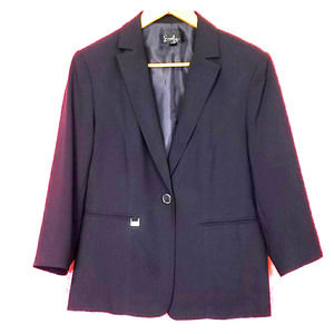 Blue/Purple Blazer size 10